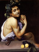 Tablou canvas Caravaggio - Sick Bacchus
