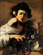 tablou Caravaggio - Boy Bitten By A Lizard