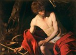 Tablou canvas Caravaggio - John the Baptist