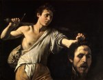 Tablou canvas Caravaggio - David with the Head of Goliath