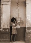 tablou Cuban street - sepia