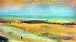tablou Degas-Beach at low tide 1