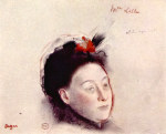 tablou Degas-Portrait of Madame Lisle