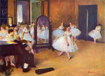 tablou Degas-The dance hall