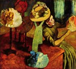 tablou Degas-The fashion shop