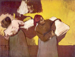 tablou Degas-Two washer women