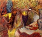 tablou Degas-Women at the toilet 1
