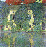 Tablou canvas Gustav Klimt - Castle at the Attersee
