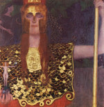 Tablou canvas Gustav Klimt - Pallas Athena