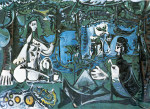 tablou Picasso - Luncheon on the grass