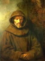 Tablou canvas Rembrandt - A franciscan friar
