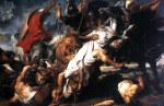tablou Rubens - Lion hunt