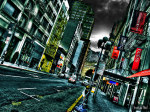 Tablou canvas Urban street