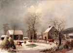 Tablou canvas Iarna 7