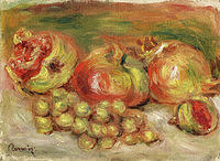 tablou pierre auguste renoir - granates and grapes