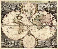 tablou harta antica (207)
