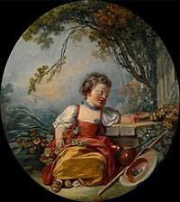 tablou francois boucher - barnett (1755)
