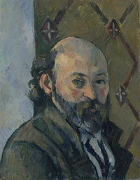 tablou paul cézanne - self portrait