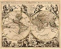 tablou harta antica (210)