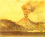 tablou 1892  edgar degas - le vesuve