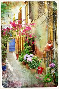 tablou venetia, vintage, italia (157)