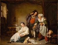 Tablou canvas jean baptiste greuze (1)