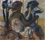 tablou degas - hat shop (1882)