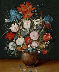 Tablou canvas flori, reproducere pictura (121)