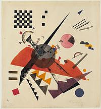 tablou vasily kandinsky - orange