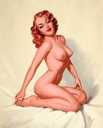 tablou nud, ilustratie (293)