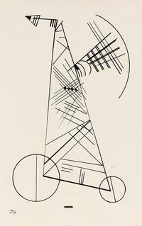 tablou wassily kandinsky - Untitled, 1930