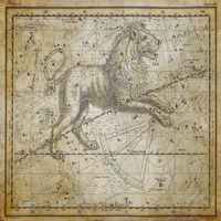 tablou star constellation, astrology map, 1820 (14)
