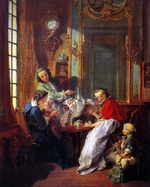 tablou boucher, francois - 1. until 1749 - the afternoon meal