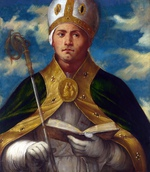 tablou romanino, girolamo - saint gaudioso