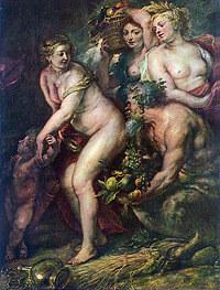 tablou rubens - venus, ceres and selenium