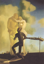 Tablou canvas salvator dali - 69