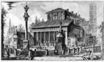 tablou piranesi - roma antica, alb negru 27