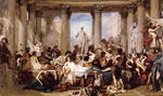 tablou couture, thomas - romans of the decadence
