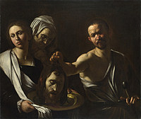 tablou michelangelo merisi da caravaggio - salome receives the head of saint john the baptist