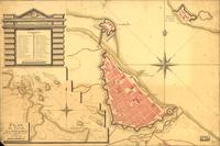 tablou plan de la ville de la veracruz, 1798