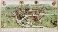 tablou Harta antica liege, 1710