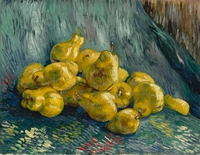 tablou van gogh - still life with quinces, 1889