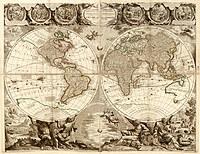 tablou harta antica (212)