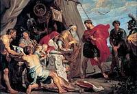 tablou rubens- history of decius musa 2. guessing detsiyu musa (1617)