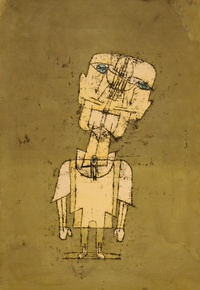tablou paul klee - ghost of a genius, 1922
