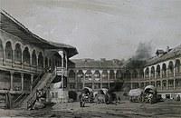 tablou hanul lui manuc, 1841