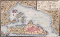 tablou plano de la ciudad de s. juan de puerto rico, 1770