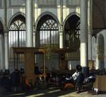 tablou witte, emanuel de - the interior of the oude kerk, amsterdam (1)