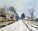Tablou canvas claude monet   springtime landscape at giverny, 1894