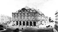 tablou palais garnier, Paris, 1861